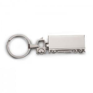 Metalinis raktų žiedas sunkvežimio formos