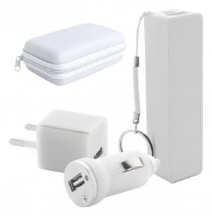 USB įkroviklis ir USB išorinė baterija Rebex