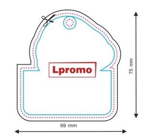 Automobilių kvapai su reklamine žinute, forma lpf462