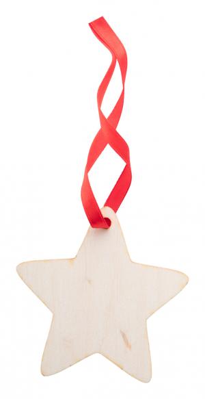 Verslo dovanos WoXmas (Christmas tree ornament, star)