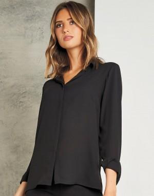 Regular Fit Soft Shirt. Moteriški marškiniai