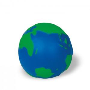 Antistresinis kamuoliukas: žemės gaublys