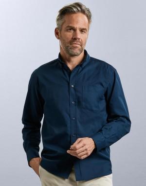 Long Sleeve Classic Twill Shirt. Vyriški marškiniai