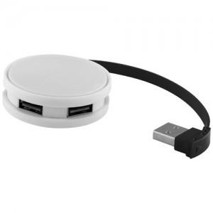 Apvalus 4-ių jungčių USB šakotuvas