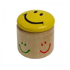 Laimingas veidukas drožtukas