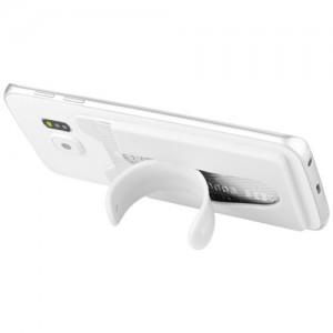 Spalvoto silikono išmaniojo telefono stovas ir piniginė