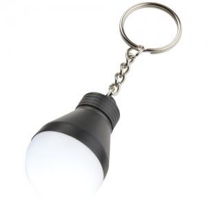 Aquila lemputės formos raktų pakabukas su LED