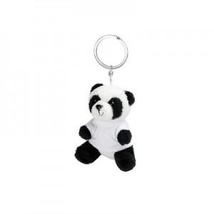 Raktų pakabukas su pliušine panda