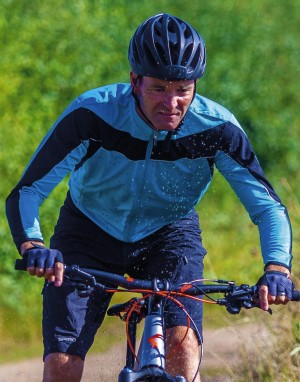 Vyriškas sportinis (dviratininko) džemperis