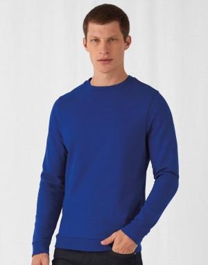 Universalus džemperis iš prancūziško kilpinio audinio, su įsiūtomis rankovėmis