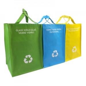 Perdirbimo atliekų maišių rinkinys