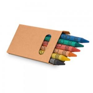 EAGLE. 6 spalvotų pieštukų rinkinys