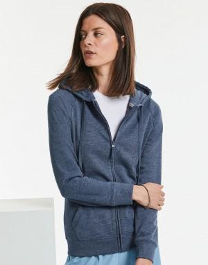 Moteriškas aukščiausios raiškos džemperis su užtrauktuku