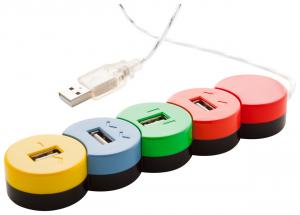 USB šakotuvas Proc
