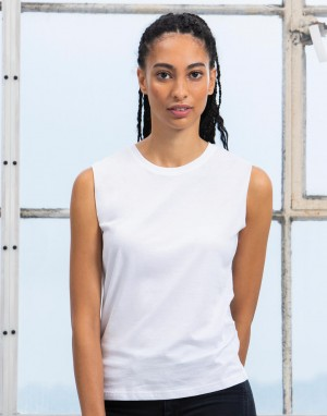 Moteriški neapdoroti berankoviai marškinėliai iš ekologiškos medvilnės