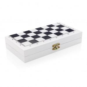 Stalo žaidimas medinėje dėžutėje