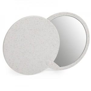 Kviečių šiaudų kišeninis veidrodis