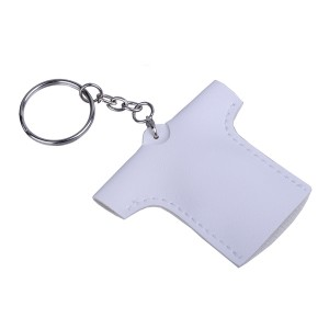 Marškinėlių formos raktų pakabukas