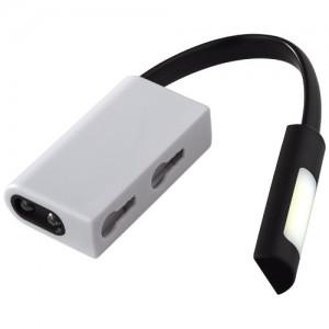 Libra dvigubas COB ir LED žibintuvėlis