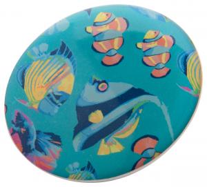 Verslo dovanos DomeBadge (magnetic badge)