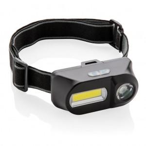 COB ir LED galvos žibintuvėliai