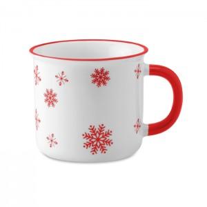 Kalėdinis vintage puodelis