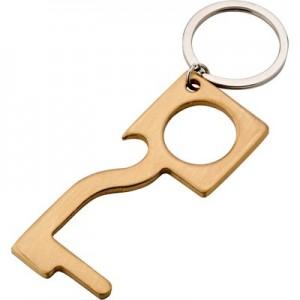 Antikontaktinis raktų pakabukas durims atidaryti ir bekontakčiai naudoti viešojo naudojimo paviršius, butelių atidarytuvas