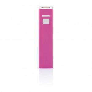 2.200 mAh atsarginė baterija, rožinės spalvos