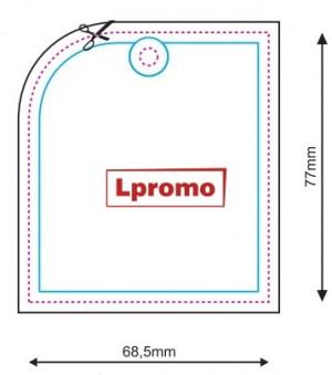 Reklaminis oro gaiviklis, kvadratinė figūra