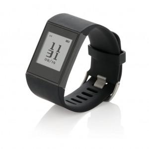 Multi-sport E-ink laikrodis, juodos spalvos