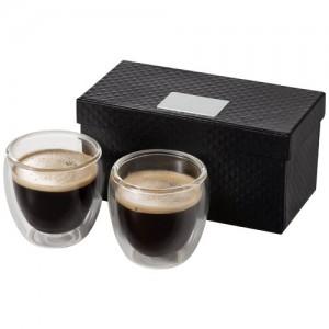Boda firmos 2-ių dalių espreso kavos stiklinių puodelių rinkinys