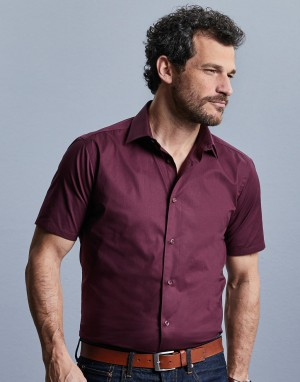Fitted Stretch Shirt. Vyriški marškiniai