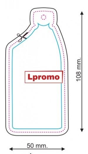 Automobiliniai kvapai su logo, butelis