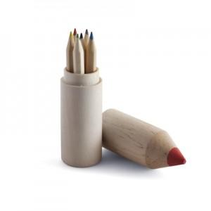 Spalvotų pieštukų rinkinys