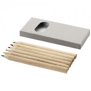 Ayola 6 vnt. spalvotų pieštukų rinkinys