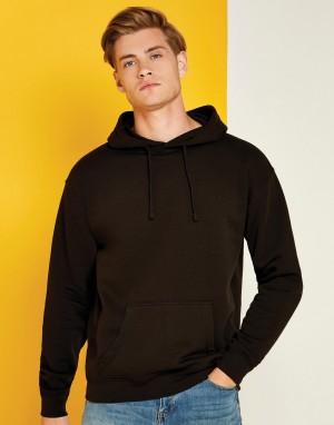 Vyriškas įprasto kirpimo džemperis su gobtuvu