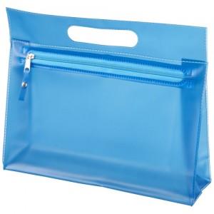 Paulo skaidrus PVC tualeto reikmenų krepšys