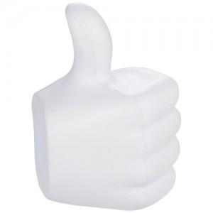 Thumbs up streso kamuoliukas nykštys aukštyn formos