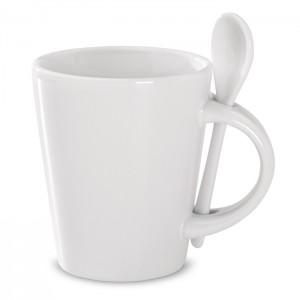 Sublimacinis puodelis su šaukšteliu
