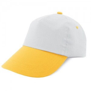 Dviejų spalvų 5 plokščių kepuraitė