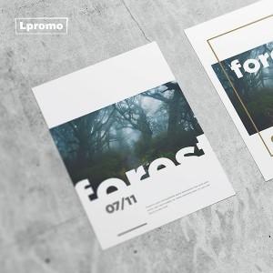 Reklaminės skrajutės spauda, A6, 105x148mm, 115 gsm