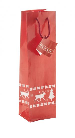 Verslo dovanos Pilpala W (wine paper bag)