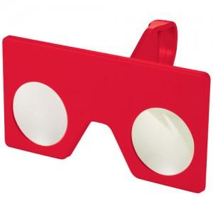 Vish firmos maži virtualios realybės akiniai su spaustuku