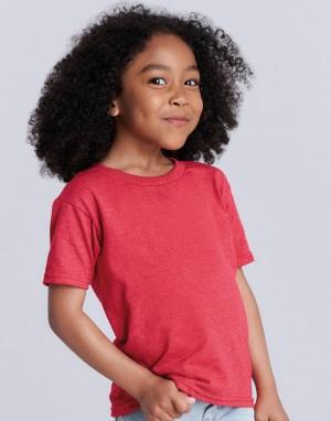 Vaikiški T-marškinėliai iš sunkios medvilnės