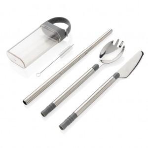 Kišeninis daugkartinio naudojimo stalo įrankių rinkinys
