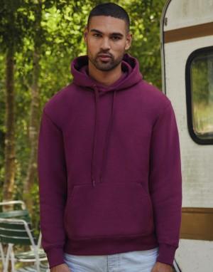 Vyriškas aukščiausios kokybės džemperis su gobtuvu