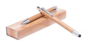 Bambukinių rašiklių rinkinys Heleon