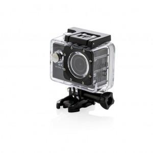 4K Action kamera, juodos spalvos