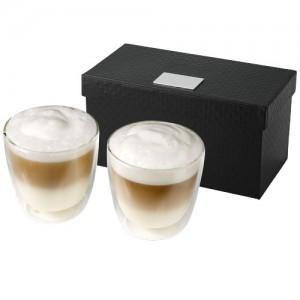 Boda firmos 2-ių dalių kavos stiklinių puodelių rinkinys