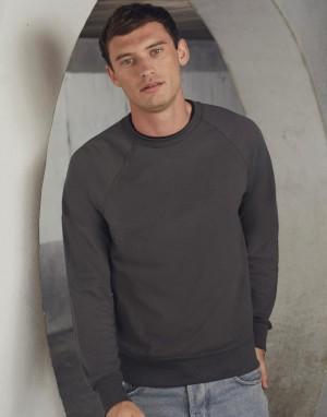 Vyriškas lengvas džemperis su reglano rankovėmis